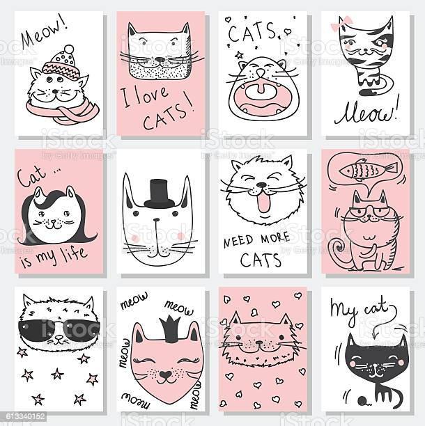 Cat cards vector id613340152?b=1&k=6&m=613340152&s=612x612&h=wtpwh4  cz6mlkzmlfdu7rcjvabpg6dbiodt yhmzz8=
