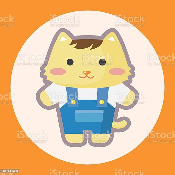 Cat cartoon theme elements vector id487441404?b=1&k=6&m=487441404&s=612x612&h=228g30sqtzlveq6btcahejb0lx0xwnpiawrhrmlu x8=