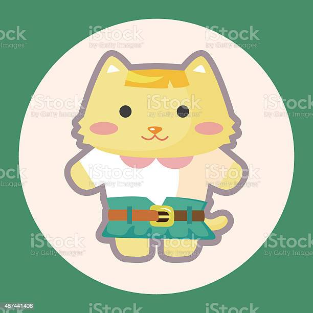Cat cartoon theme elements vector id487441406?b=1&k=6&m=487441406&s=612x612&h=i7rpgg6zriildqop4anqneagihe swasnt8uc54p5cs=