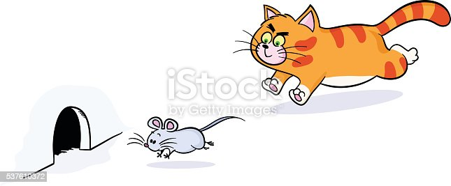 Dog Chase Cat Clipart Free