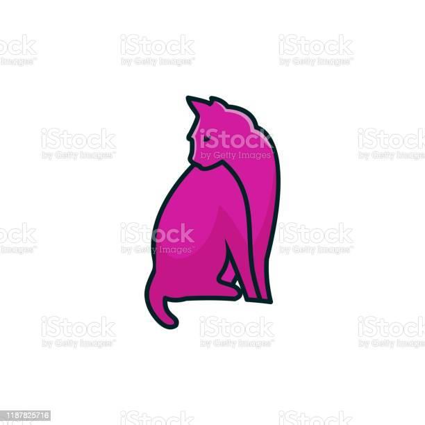 Cat design concept illustration vector template vector id1187825716?b=1&k=6&m=1187825716&s=612x612&h=wg z ee vzvoxcbe2libmz65v2v1tm2hbg9b kxcu9c=