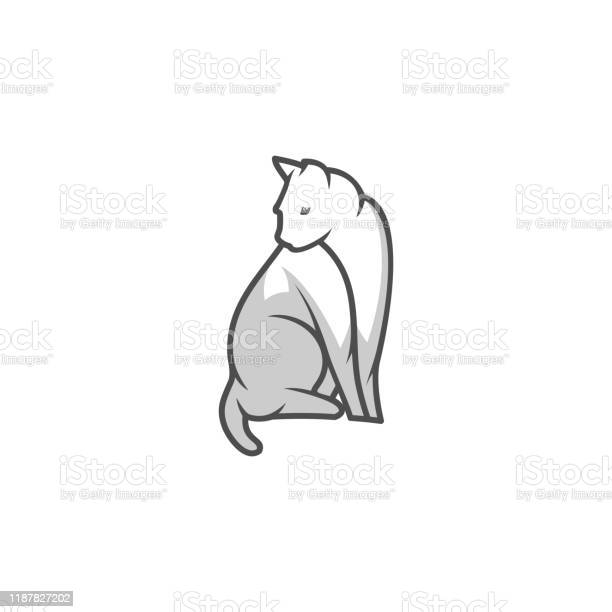 Cat design concept illustration vector template vector id1187827202?b=1&k=6&m=1187827202&s=612x612&h=fcrqdhy3flfwiacabfbcufl8xzfsku1rvxujy19tj o=