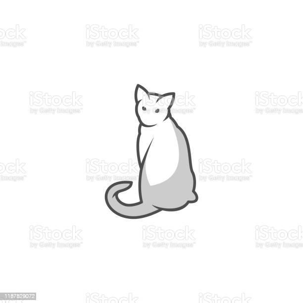 Cat design concept illustration vector template vector id1187829072?b=1&k=6&m=1187829072&s=612x612&h=amnhmojacxwaytwka34jki9ufmxpzxspajuzlvhthq8=
