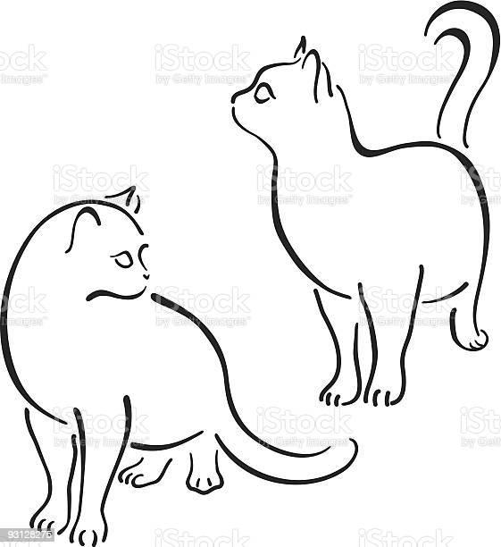 Cat design set line art vector id93128275?b=1&k=6&m=93128275&s=612x612&h=if21j0ufhiwhy38nyrqr7e5 z0lrvtjum9 ildms7ds=