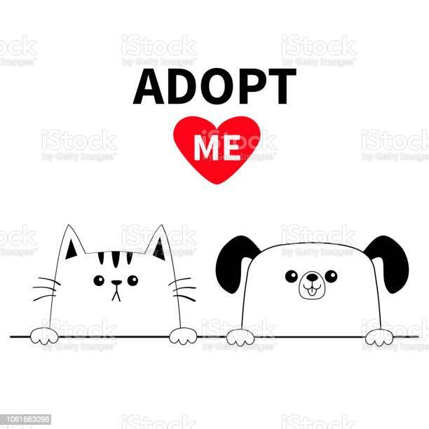Cat dog head face set hands paw holding line adopt me help homeless vector id1061683098?b=1&k=6&m=1061683098&s=612x612&h=m2nk0qxlm1suxznxrm826xg 9jyhc0gmuxhqoozni3y=