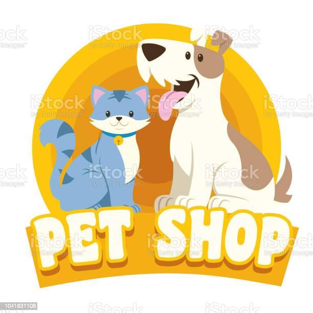 Cat dog petshop design vector id1041831108?b=1&k=6&m=1041831108&s=612x612&h=pf1xinogfbjv1 oc9uyg2ulc9bh5ntlthvowzbborj0=