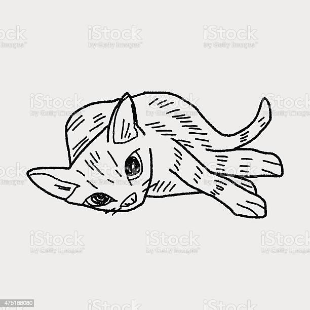 Cat doodle drawing vector id475188080?b=1&k=6&m=475188080&s=612x612&h=qhp3 5 pev61cpg uuddfrr8fa gxjfgtkxg5mhupmk=