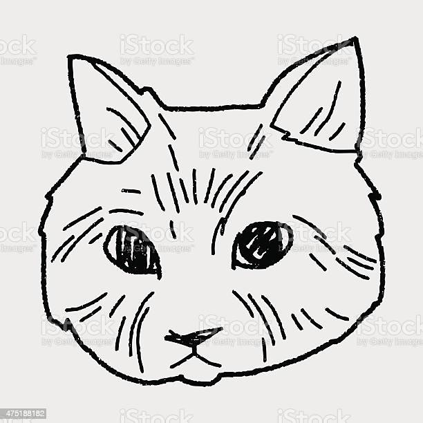 Cat doodle drawing vector id475188182?b=1&k=6&m=475188182&s=612x612&h=gnmmlbify0vi51aybfhseynnl4upugri0tbjzcgn05o=