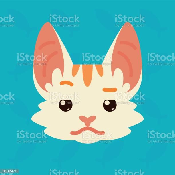 Cat emotional head vector illustration of cute kitty shows distrust vector id961454716?b=1&k=6&m=961454716&s=612x612&h=w9 kj xey zqvl4t49vaaylgu2e0fdddpdsgr1gunqq=