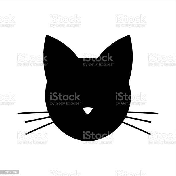 Cat head icon vector id679870546?b=1&k=6&m=679870546&s=612x612&h=njxajr7klppku2u8ib3ycrusih06yyq1hqc5taxwgmc=