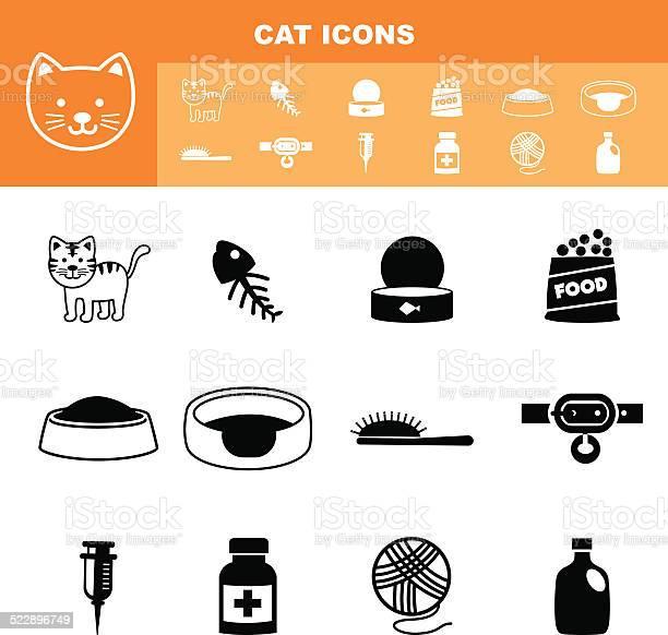 Cat icon set vector vector id522896749?b=1&k=6&m=522896749&s=612x612&h=i7jglilqyswx8kn d8eymsbhlprm8iab40a i xb4ea=