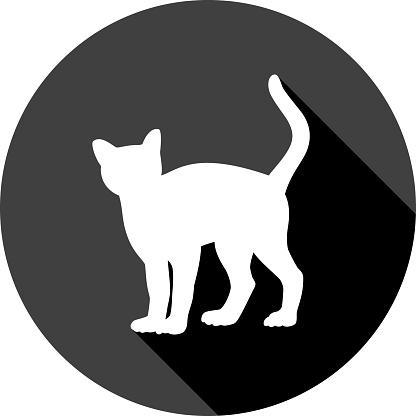 Cat Icon Silhouette 2