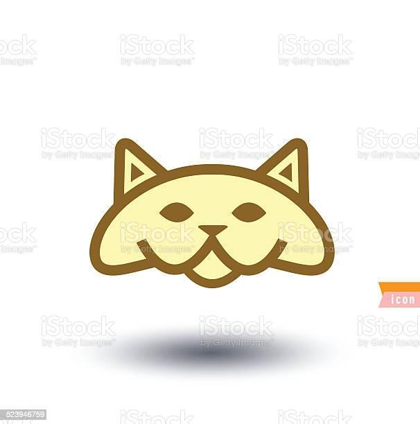 Cat icon vector illustration vector id523946759?b=1&k=6&m=523946759&s=612x612&h=9fppr9d0xenw1jpg16enyirzsipl6b6qov0xdubgar8=