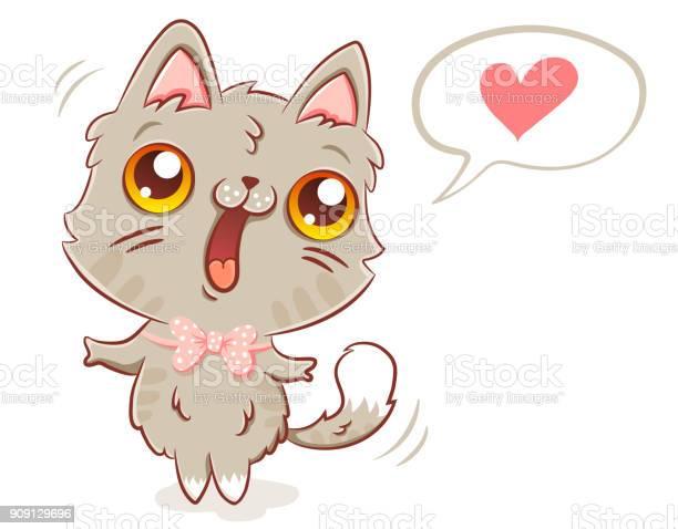 Cat in kawaii style vector id909129696?b=1&k=6&m=909129696&s=612x612&h=dynzm7dzpdozypuweufprtcgfjvqqaydq7dvv7 0nem=