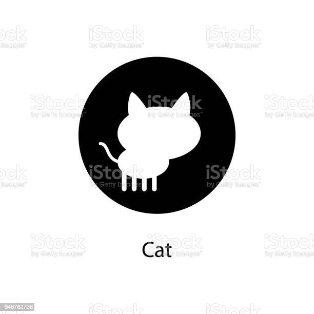 Cat in round icon element of minimalistic icon for mobile concept and vector id948782736?b=1&k=6&m=948782736&s=612x612&h=hloz4ublfyqdzdxiiawdymxj4si ysh59h2sjrsvimi=