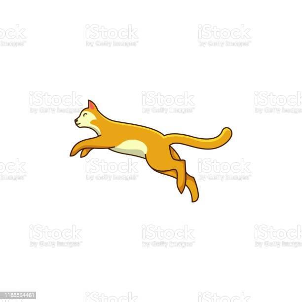 Cat jump design concept illustration vector template vector id1188564461?b=1&k=6&m=1188564461&s=612x612&h=gpvpygtzg0niyuzwkjr4mngdi7idlty7fzefunaygxa=