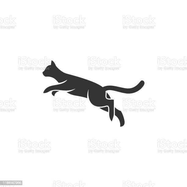 Cat jump silhouette design concept illustration vector template vector id1188562995?b=1&k=6&m=1188562995&s=612x612&h=njoa9tuh gu3cv2atkuhgiuqadtu38rtuexwd1udpgq=