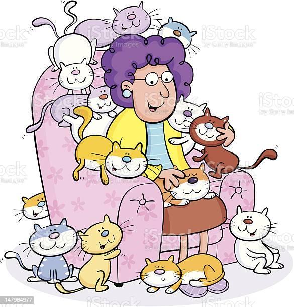 Cat lady vector id147984977?b=1&k=6&m=147984977&s=612x612&h=qo yobzqlwzcbxgjpus59shv668vygvoawxq5tvrm0i=