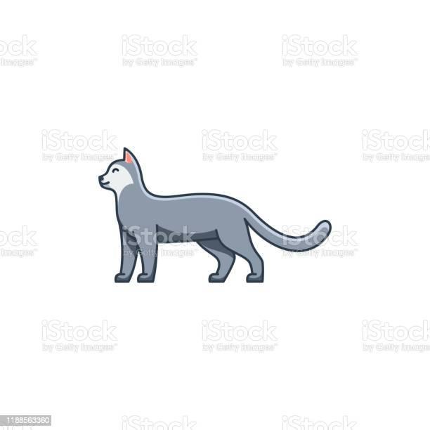 Cat line art design concept illustration vector template vector id1188563360?b=1&k=6&m=1188563360&s=612x612&h=drxugkflw096qczt8ndwyd0f8om hpzytdpep5at5su=