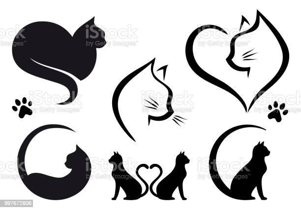 Cat logo design vector set vector id997672606?b=1&k=6&m=997672606&s=612x612&h=vu2xlcqyuo4k8cxs2ifbfdubxpksikzkg4zrzgji83i=