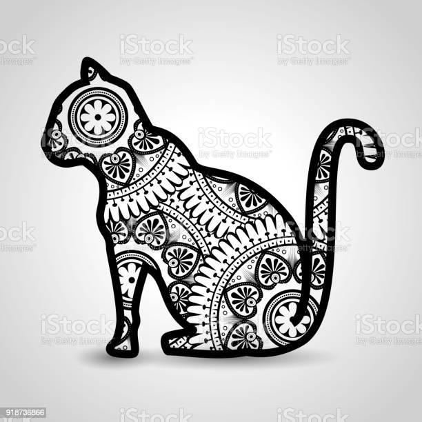 Cat mandala boho style vector id918736866?b=1&k=6&m=918736866&s=612x612&h=mqjozehz7wmlnh3deizebycxnyws7bvfifumm1agkny=