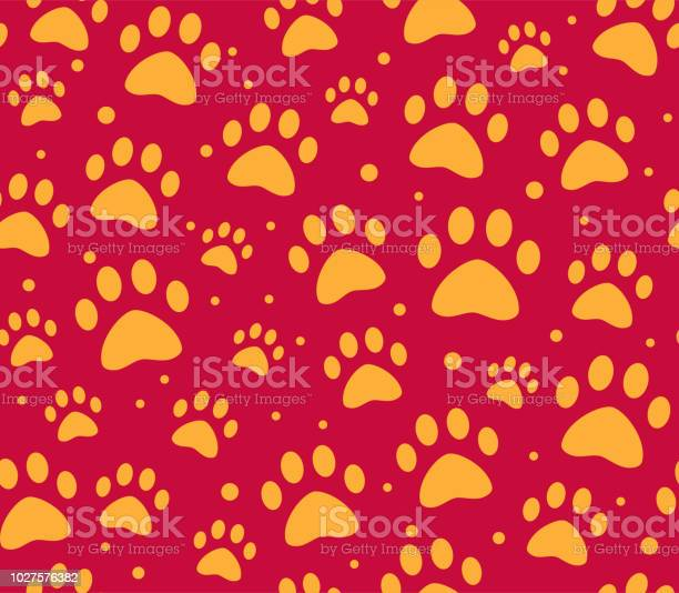 Cat or dog paw seamless patterns backgrounds for pet shop websites vector id1027576382?b=1&k=6&m=1027576382&s=612x612&h=suqnt cfymsv5ubm3kwv5y6t31cqnfyrl pvib2oihk=