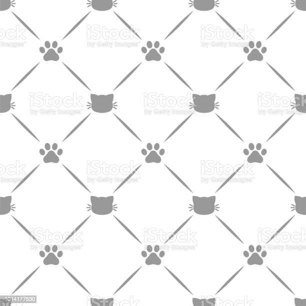 Cat pattern kitten paw background vector id1014177530?b=1&k=6&m=1014177530&s=612x612&h=ahmcdvks gnxz2g6jyd8p7dxscepqem1owm hlodjgm=
