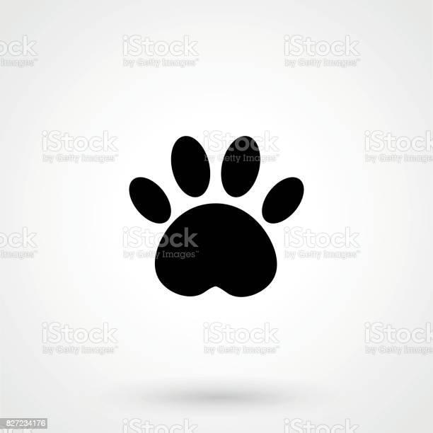 Cat paw icon vector id827234176?b=1&k=6&m=827234176&s=612x612&h=das mbjt2qhuhxiexwarh32mrv 5bpiernfxjciuu6y=