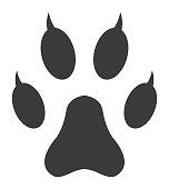 Cat Paw Print Icon