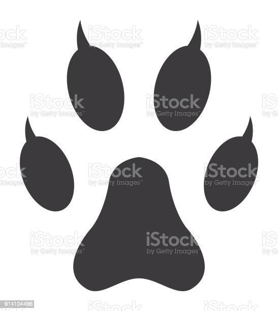 Cat paw print icon vector id914104496?b=1&k=6&m=914104496&s=612x612&h=vgobefcqbymtdpq0ngc0qd1qdgklbpp4uzqo rhslj0=