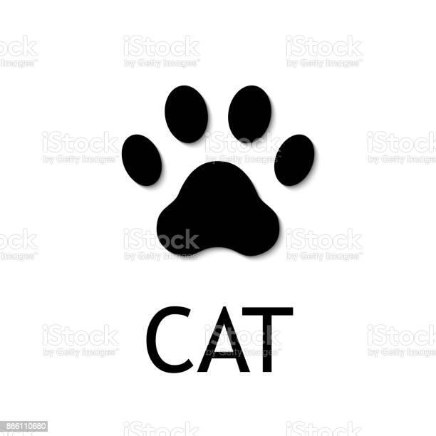 Cat paw print vector icon vector id886110680?b=1&k=6&m=886110680&s=612x612&h=8jk0bdsntacc4roxszx3b9rggznxqzqvrkvvelill48=