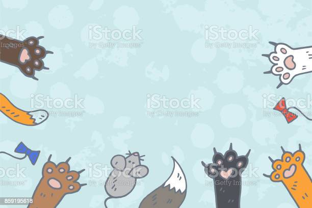 Cat paws background vector vector id859195618?b=1&k=6&m=859195618&s=612x612&h=09dg0ib2jkyreomaqztuhwxnuh76e8okgsctlokmqwo=
