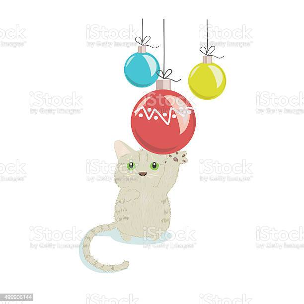 Cat playing with christmas decorations vector id499906144?b=1&k=6&m=499906144&s=612x612&h=yayzif2ga i58e9gvlkypu7qr7udfpfhuw6 rhzmmta=