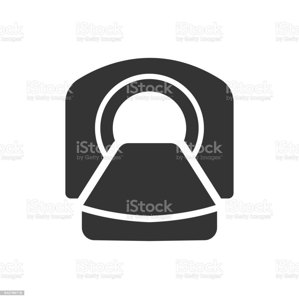 Cat Scan Icon vector art illustration