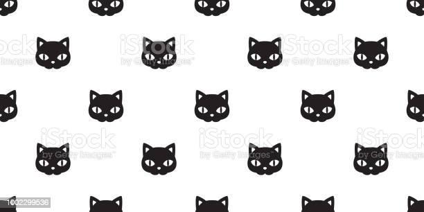 Cat seamless halloween vector pattern black kitten face calico scarf vector id1002299536?b=1&k=6&m=1002299536&s=612x612&h=xswu9jb7mh8tpem4mlwaqxfivscuumnxr3v x5 tliy=