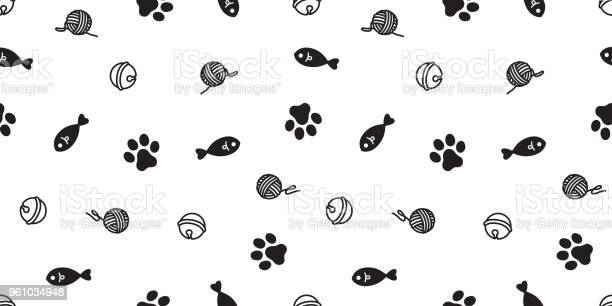 Cat seamless pattern kitten paw cat toy vector scarf background vector id961034948?b=1&k=6&m=961034948&s=612x612&h=tp7uixuhcez52dgpjxiyh8lr4xb h6g7qyu183a3d7e=