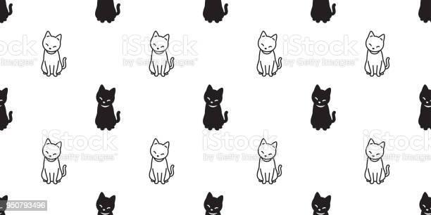 Cat seamless pattern vector halloween isolated background repeat vector id950793496?b=1&k=6&m=950793496&s=612x612&h=zlwdrsmthqrs0esjgsrmnj 2dfii63lrhessxirfhb0=