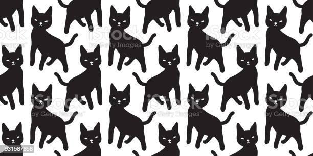 Cat seamless pattern vector kitten halloween isolated wallpaper vector id931587658?b=1&k=6&m=931587658&s=612x612&h=eykjjmyq8p 2kri7awmtmby2quqnw xxtyalxqwhk3g=