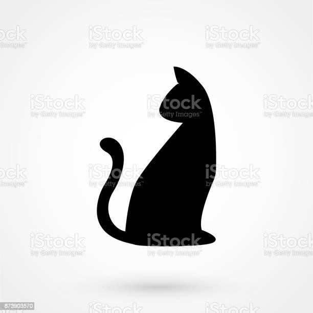 Cat shape icon vector illustration vector id873903570?b=1&k=6&m=873903570&s=612x612&h= ofzzlekh170h2gpxycpovdgvncikuzldcxxvqrktlq=