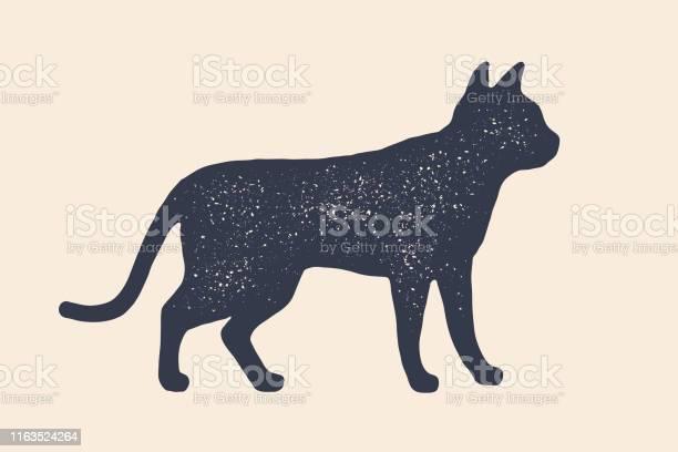 Cat silhouette concept design of home animals vector id1163524264?b=1&k=6&m=1163524264&s=612x612&h= rgnrfgdunwvzbv7urc2dbbycor 0aatsr6 odpv5ka=