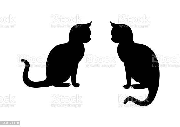 Cat silhouette vector vector id963171118?b=1&k=6&m=963171118&s=612x612&h= 2ssk60zqsiw6to zlgxxtk52hfgnggdtq75e7gznew=
