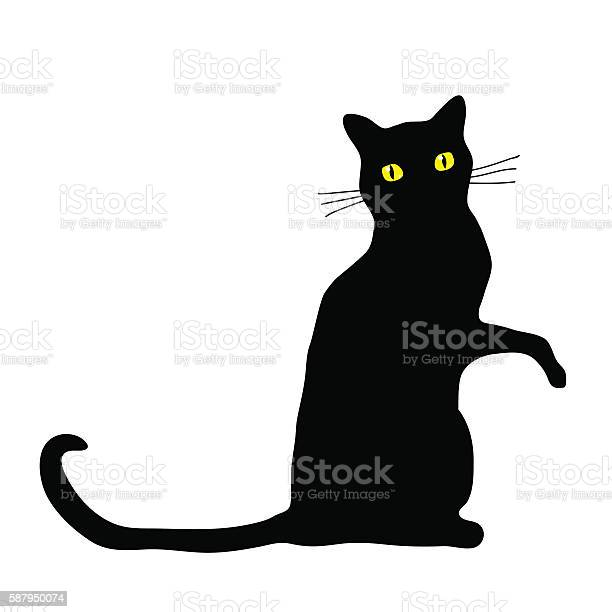 Cat sitting isolated vector id587950074?b=1&k=6&m=587950074&s=612x612&h=sllpunjdlowh5hrfzdce346wfdr3eg acfj4z7z6pk8=