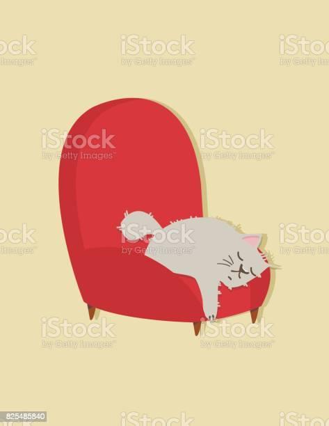 Cat sleep on sofa vector id825485840?b=1&k=6&m=825485840&s=612x612&h=tdfttkhszeg 45c xgvjv2 ozpbqkskcqcr7wucb uu=