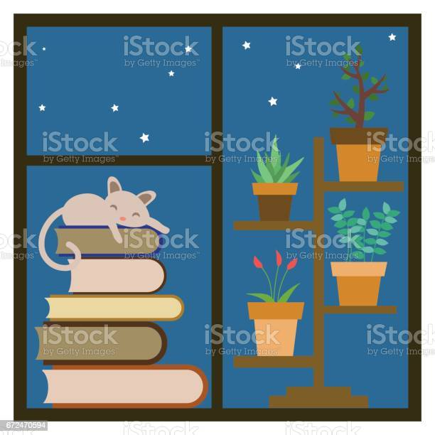 Cat sleeping on a stack of books on the window vector id672470594?b=1&k=6&m=672470594&s=612x612&h=h4i9xipy0y demhulbe5novfdldy2ni t3gkwkihn0s=