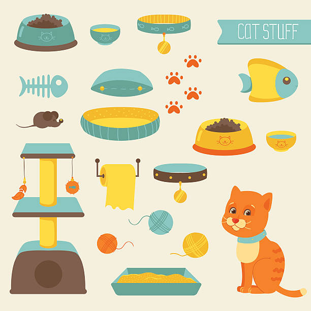 Toy Food Clip Art : Katzenfutter vektorgrafiken und illustrationen istock