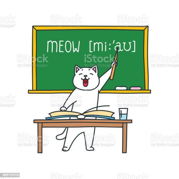 Cat teacher vector id988792916?b=1&k=6&m=988792916&s=612x612&h=qbbyqrvnlyps88bh7jcebap27cigyui0bwurodrc pk=