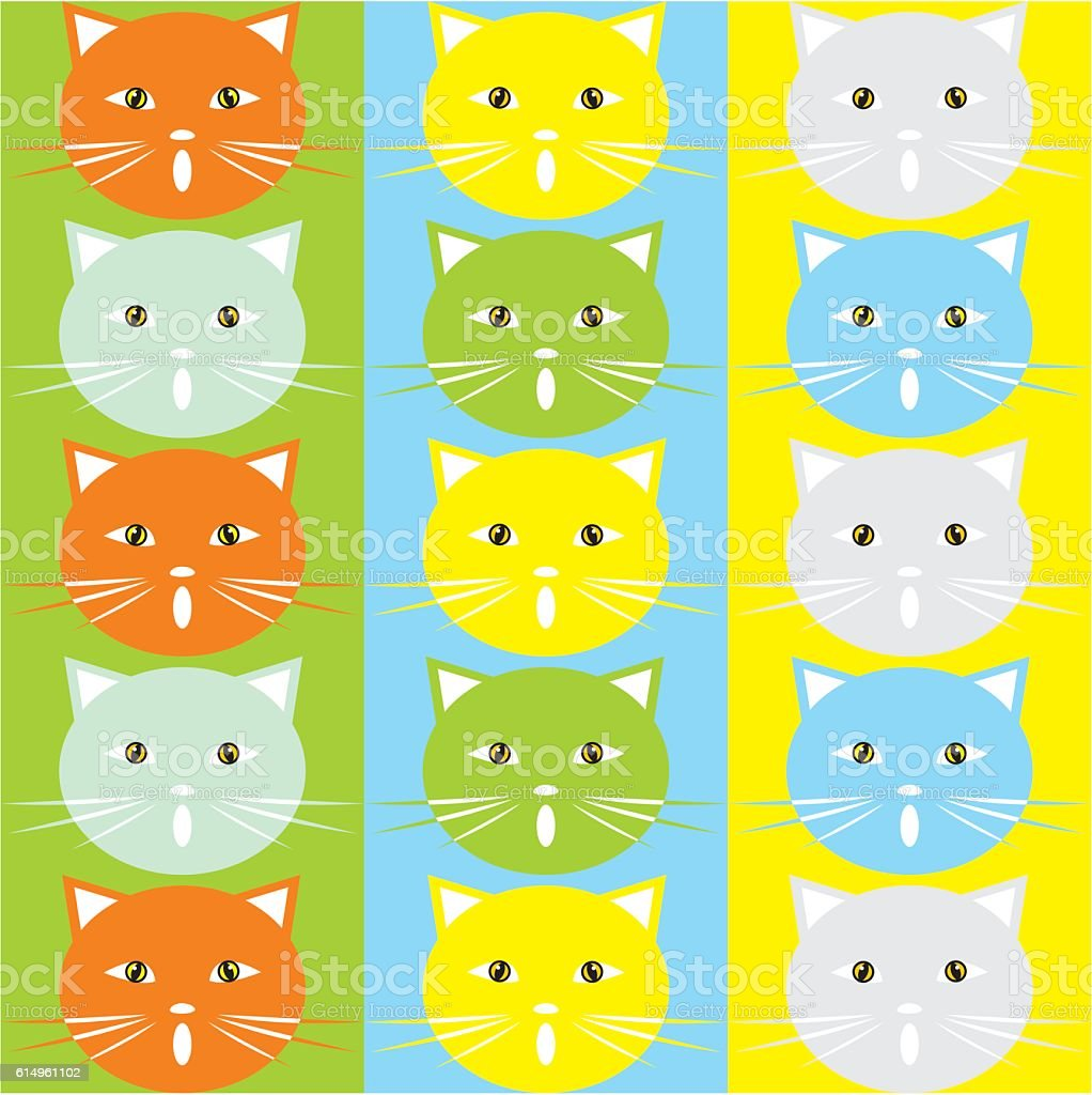 cat, texture, vector background vector art illustration