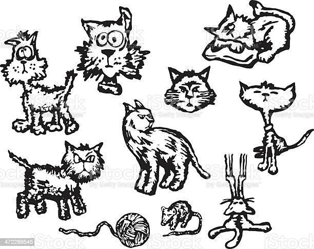 Cat themed vector spot illustrations vector id472269545?b=1&k=6&m=472269545&s=612x612&h=ge7z7fkuxbev073vhxxjgdla3js0c5eoofyggxpwez8=