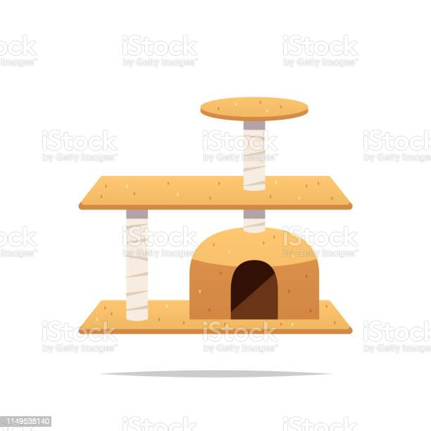Cat tree tower vector isolated illustration vector id1149538140?b=1&k=6&m=1149538140&s=612x612&h=6pay4wiu qh4chujd2j6ge qdpdj0qa9iheopcodhou=