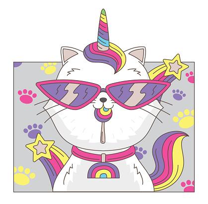 Cat unicorn.